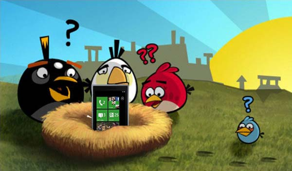 Angry Birds confirmat pentru Windows Phone 7 download poza Rovio Mobile Peter Vesterbacka iPhone 5 Android 3.0 App Store WP7 3D