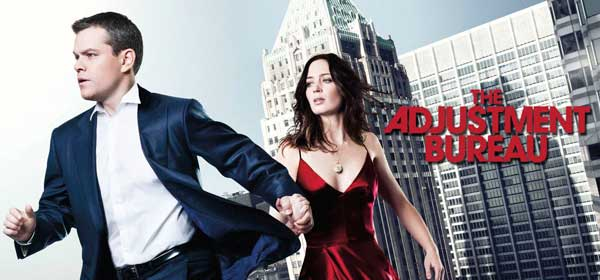 Film Gardienii Destinului - The Adjustment Bureau (2011) Trailer Online HD Poster Download Matt Damon, Emily Blunt, Terence Stamp, George Nolfi