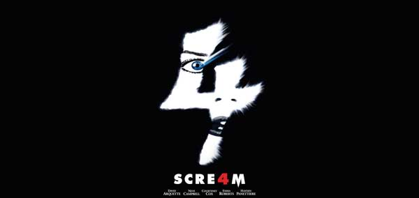 Scream 4: Coşmarul continuă (2011) Trailer Online HD Poster Download Neve Campbell, Courteney Cox, Adam Brody, Marley Shelton, Marielle Jaffe, Rory Culkin, Alison Brie, Hayden Panettiere, Emma Roberts, Mary McDonnell şi David Arquette Ghostface Wes Craven
