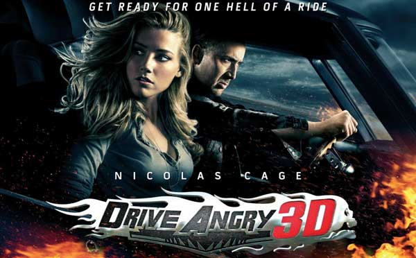 Film Iadul se dezlănţuie 3D - Drive Angry 3D (2011) Trailer Online HD Poster Nicolas Cage, Amber Heard, William Fichtner Milton