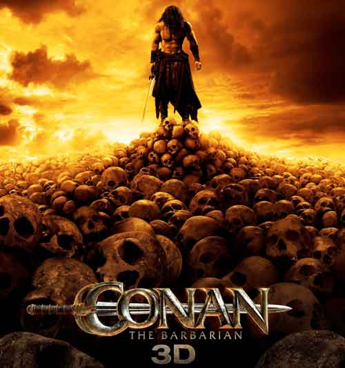 Film Conan Barbarul 3D - Conan the Barbarian (2011) Trailer Online HD Poster Download Jason Momoa, Ron Perlman, Stephen Lang, Rachel Nichols şi Rose McGowan