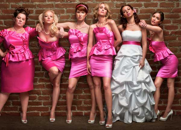 Film Domnişoare de onoare - Bridesmaids (2011) Trailer Online HD Poster Download Kristen Wiig, Maya Rudolph şi Rose Byrne