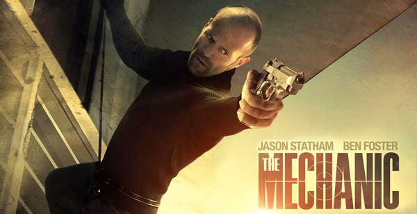 Film Mecanicul - The Mechanic (2011) Trailer Online HD Poster Download Jason Statham, Ben Foster şi Donald Sutherland