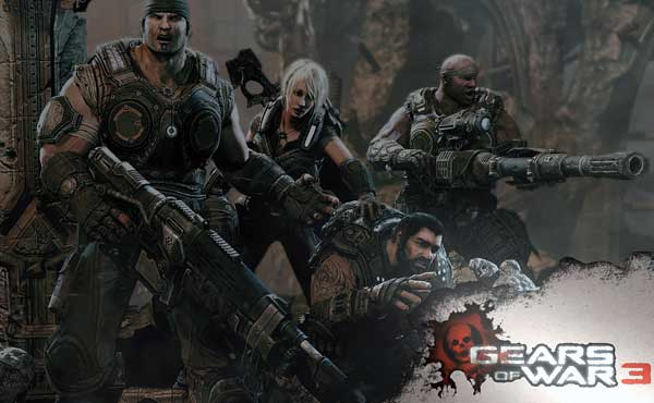 Gears of War 3 Xbox360 Poster