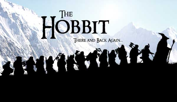 The-Hobbit: An Unexpected Journey (2012)  The Hobbit: There and Back Again (2013)