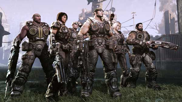 Gears of War 3 stereoscopic 3D XBOX 360