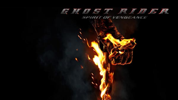 Nicolas Cage Ghost Rider: Spirit of Vengeance 2012 Poster film