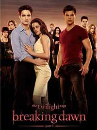 Poster Saga Amurg: Zori de Zi - Partea I - The Twilight Saga: Breaking Dawn – Part 1