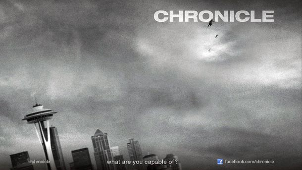 Film - Chronicle (2012) Poster