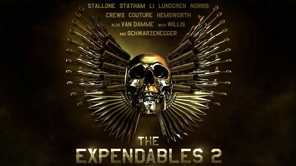 Film - Eroi de sacrificiu 2 - The Expendables 2 (2012) Poster
