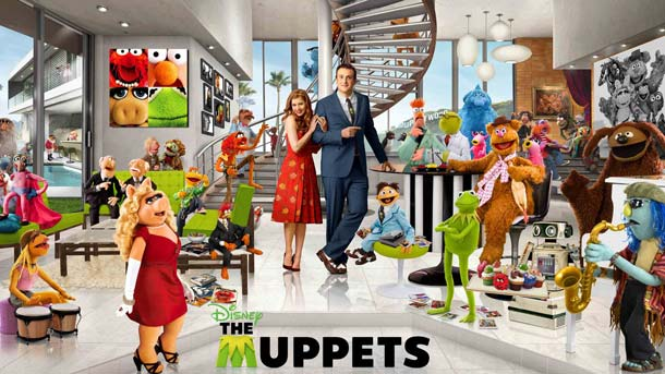 Film - Păpuşile Muppets - The Muppets (2011) Poster