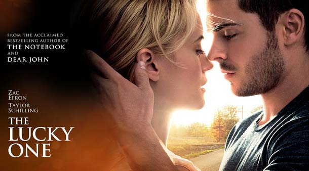 Film The Lucky One (2012) Zac Efron, Taylor Schilling