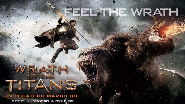 Film - Înfruntarea titanilor 2 - Wrath of the Titans (2012) Poster