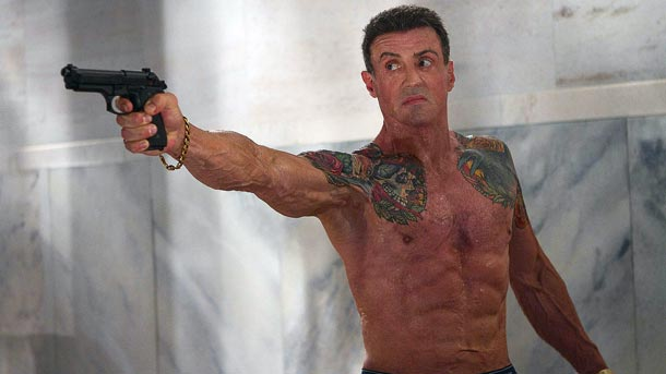 Film - Bullet to the Head (2012) Poster Sylvester Stallone