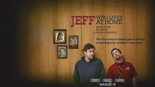Film Jeff Who Lives at Home 2011 cu Jason Segel, Ed Helms, Susan Sarandon si Judy Greer,