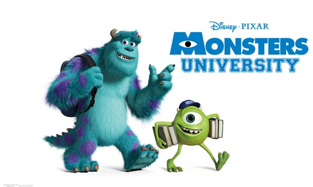 Disney Pixar Monsters University Poster Film Universitatea monstrilor
