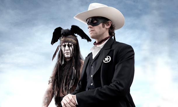 The Lone Ranger Poster Film Legenda calaretului singuratic