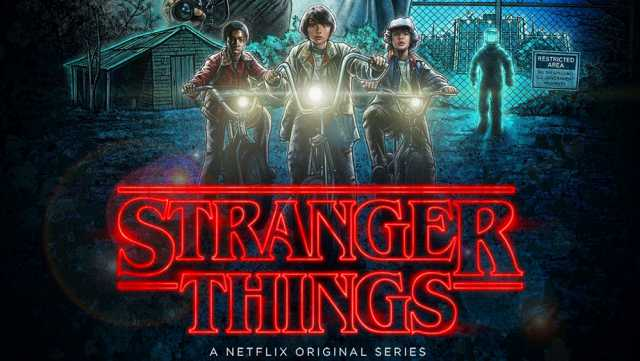 netflix stranger things poster